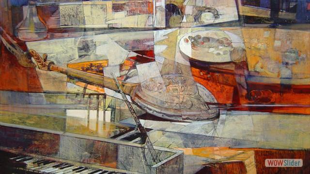 05-Pianoforte e mandolino 80x80